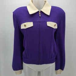 St John Knit Jacket Size Medium