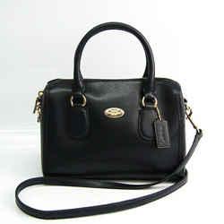 Coach Luxury Cross Grain Leather Bennett Mini Satchel F33329 Women's Le BF519881