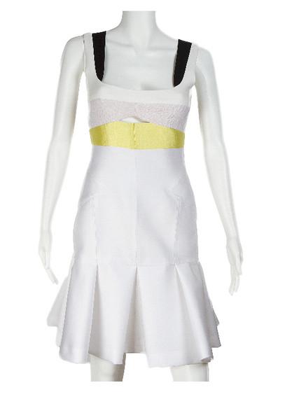 J. Mendel Silk Scuba Dress - New With Tags