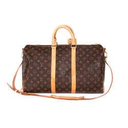 Louis Vuitton Monogram Keepall 45 Bandouliere