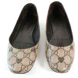Gucci - Flats - Rounded Toe - Gg Heart Monogram - 36 - Us 6