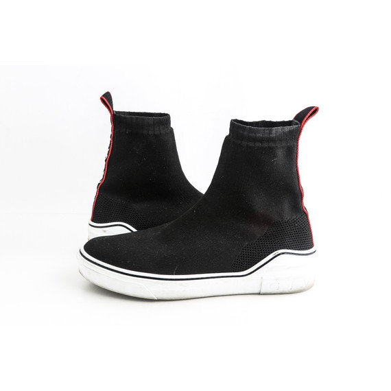 Givenchy Black George V High-top Sock Sneakers With Logo Sneakers