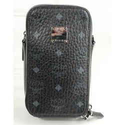 MCM Visetos Original Camera Crossbody Bag Mini Shoulder Handbag