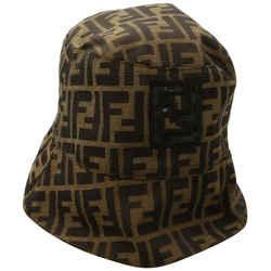 Fendi FF Monogram Zucca Fisherman Bucket Hat Cap 861340
