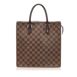Brown Louis Vuitton Damier Ebene Venice Sac Plat Bag