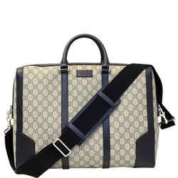 Gucci Eden Gg Supreme Coated Canvas Briefcase Bag 406384