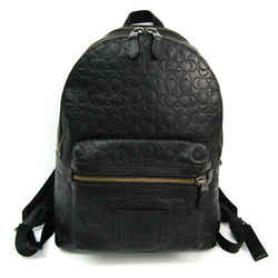 Coach Signature Academy 29493 Unisex Leather Backpack Black BF517905