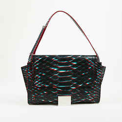 Maison Martin Margiela Snake Print Shoulder Bag