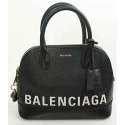 Balenciaga Grained Calfskin Ville Top Handle Bag