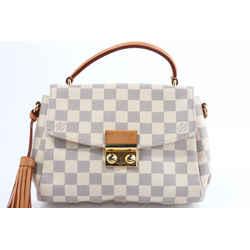 Louis Vuitton Damier Azur Croisette Crossbody Bag