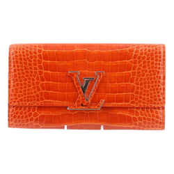 Louis Vuitton Crocodile Capucines Wallet