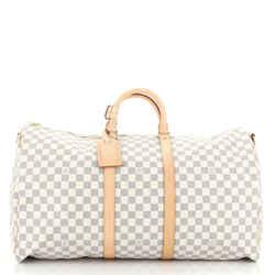 Keepall Bandouliere Bag Damier 55
