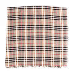 Burberry Scarf Brown Checked Shawl