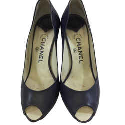 Chanel Open Toe Pumps