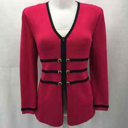 St John Pink Knit Jacket 2