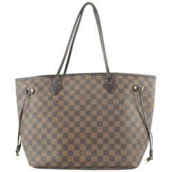 Louis Vuitton Damier Ebene Neverfull MM Tote Bag 368lvs525