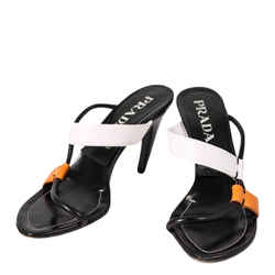 Prada Asymmetric Sandals