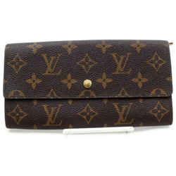 Louis Vuitton Monogram Portefeuille Sarah Long Bifold Wallet 861201