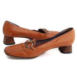 Prada Vintage Leather Block Heel