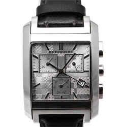 Burberry BU1560 Square Silver Chronograph Dial Watch