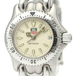 Polished TAG HEUER Sel Professional 200M Quartz Ladies Watch S99.008 BF530172