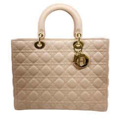 Christian Dior Light Pink Lady Dior Bag