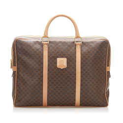 Brown Celine Macadam Business Bag