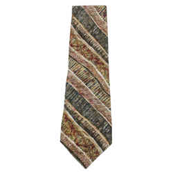 Oscar De La Renta Multicolor Silk Neck Tie