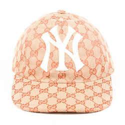 Gucci Hat NY Yankees GG Supreme Baseball Cap SZ 55-59 cm