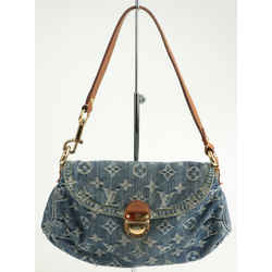 Louis Vuitton Monogram Denim Mini Pleaty Bag