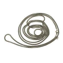 David Yurman 925 Sterling 14k Gold 3.5 Mm Box Chain Necklace