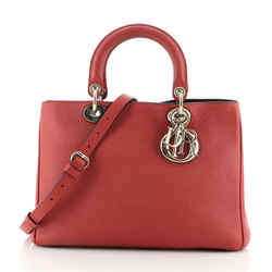 Diorissimo Tote Pebbled Leather Medium