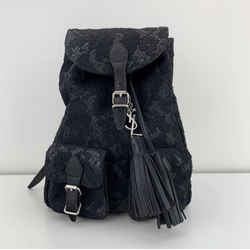 YVES Saint Laurent Small Festival Lace Mini Backpack