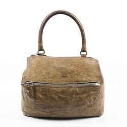 Givenchy Small Pandora Pepe Leather Satchel Bag
