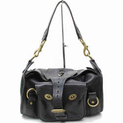 Mulberry Leather Buckle Bag 865601
