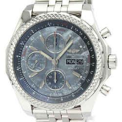 Polished BREITLING Bentley GT LTD Edition in Japan Steel Watch A13362 BF521945