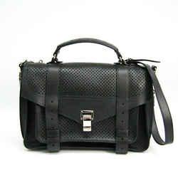 Proenza Schouler H00268 Women's Leather Handbag,shoulder Bag Black Bf508277