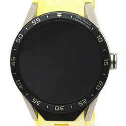 TAG HEUER Connected Smart Watch Titanium Rubber Quartz Watch SAR8A80 BF534514