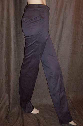 Yves Saint Laurent YSL Grey Tuxedo Pants 36FR 4/6 NWT