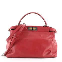 Peekaboo Bag Soft Leather Regular