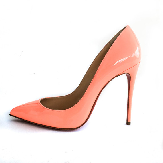 Size 38 100mm Christian Louboutin Pigalle
