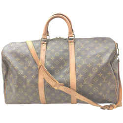 Louis Vuitton Monogram Keepall Bandouliere 50 Duffle Bag with Strap 862317
