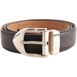 Louis Vuitton Black Leather Belt