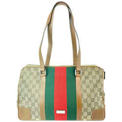 Gucci Limited Edition Sherry Monogram Web Zip Tote 5GGA916