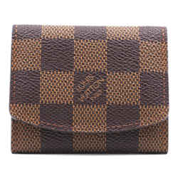 Louis Vuitton Damier Ebene Trifold Cuff Link Wallet