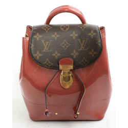 Louis Vuitton Patent Monogram Hot Springs Backpack - Rose