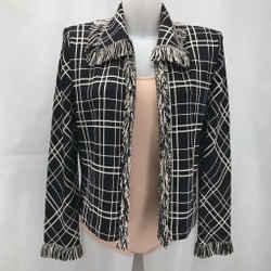 St John Black Knit Blazer 8