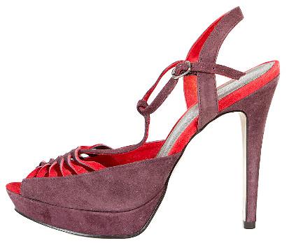 Kurt Geiger Platform Suede Shoes