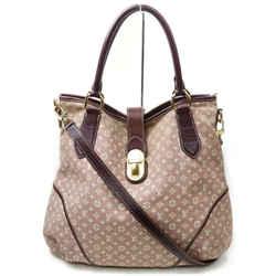 Louis Vuitton Sepia Elegie Hobo Monogram Mini Lin 2way 872596