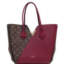 Louis Vuitton Kimono Monogram Calfskin Tote Bag Brown/burgundy